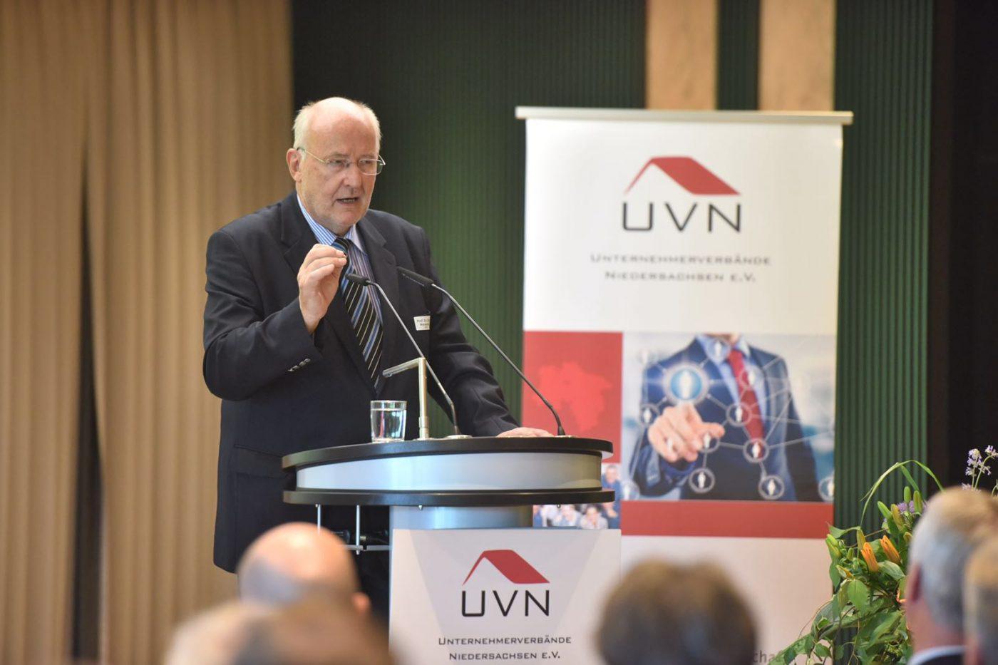Niedersächsische Wirtschaftsgespräche mit Prof. Dr. Wiesendahl