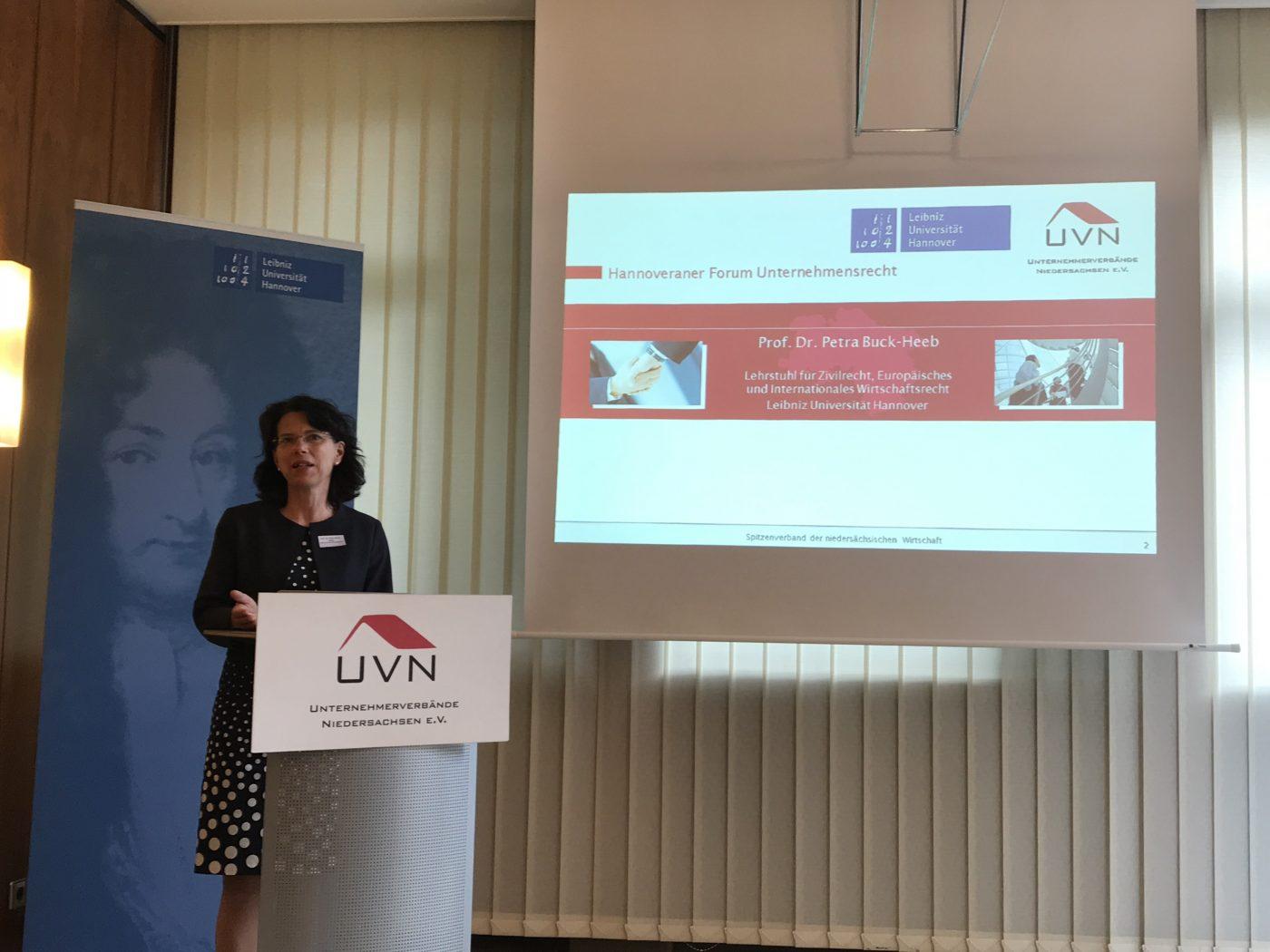2. Hannoveraner Forum Unternehmensrecht