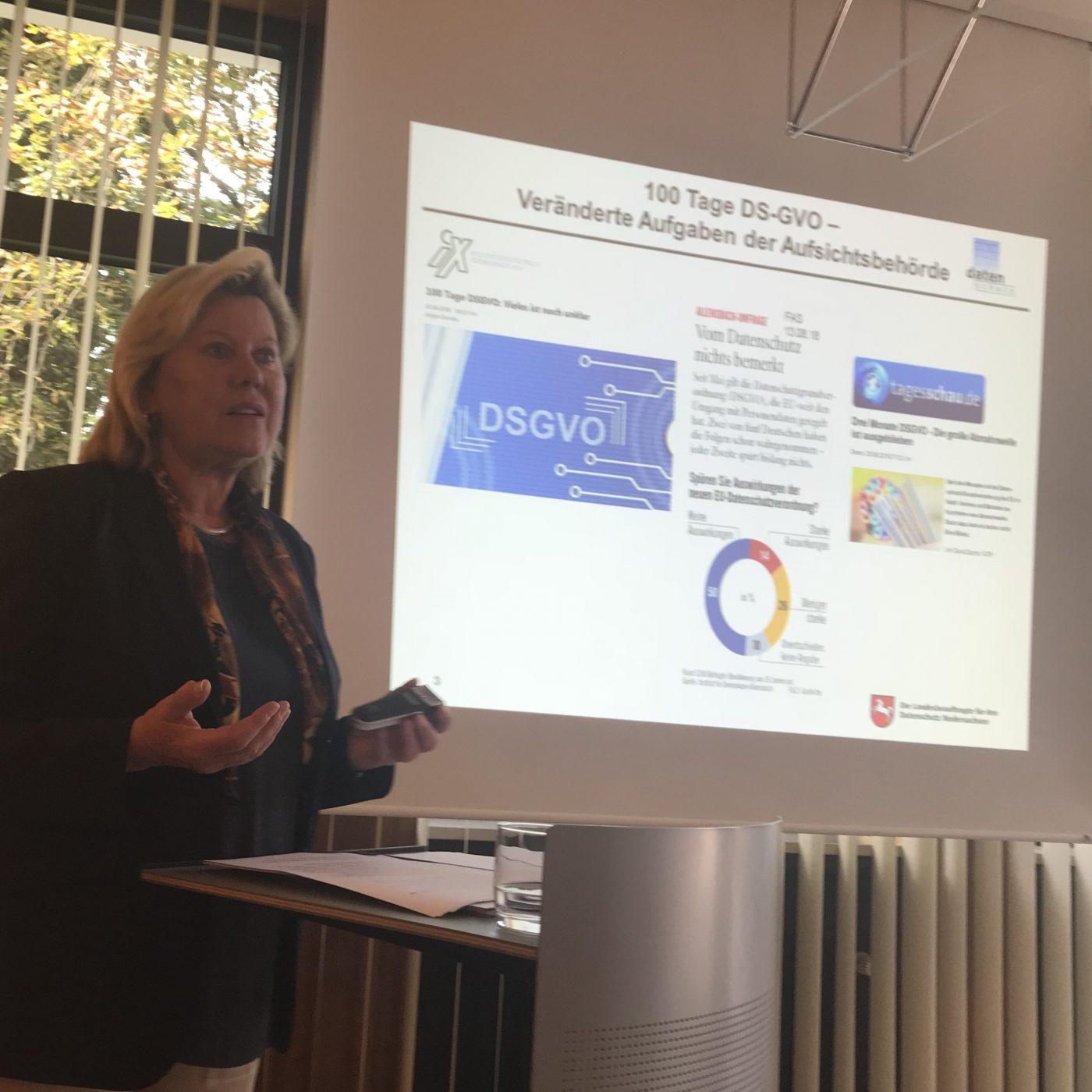 DSGVO Rechtsabteilungsleitertreffen Barbara Thiel