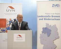 Dr. Volker Müller, Hauptgeschäftsführer der Unternehmerverbände Niedersachsen e.V. (UVN)