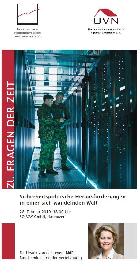 ZU FRAGEN DER ZEIT: Sicherheitspolitische Herausforderungen in einer sich wandelnden Welt