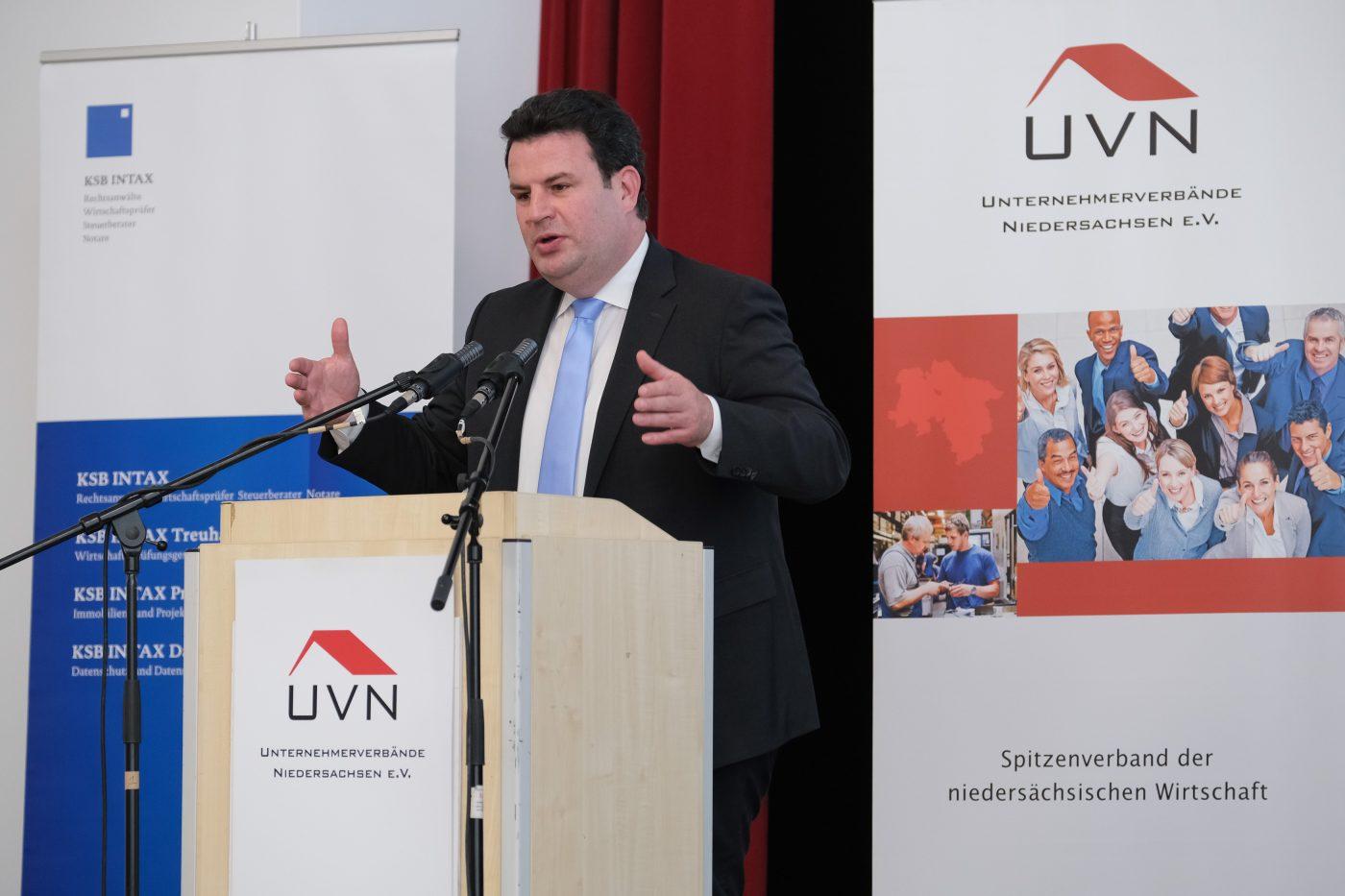 Niedersächsische Wirtschaftsgespräche mit Bundesarbeitsminister Hubertus Heil