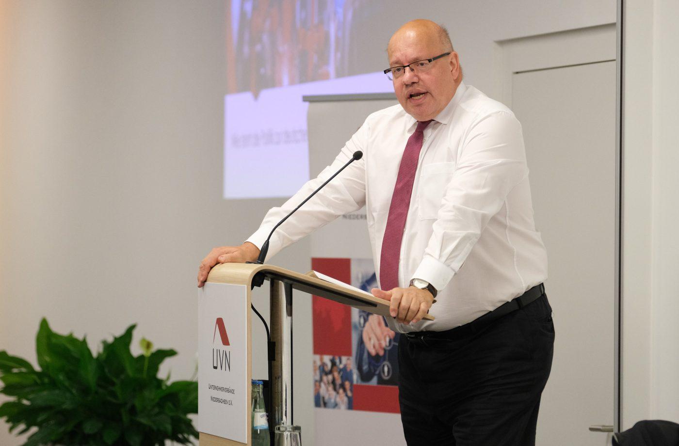 INDUSTRIEFORUM mit Bundeswirtschaftsminister Peter Altmaier - Wie steht die Politik zur deutschen Industrie?