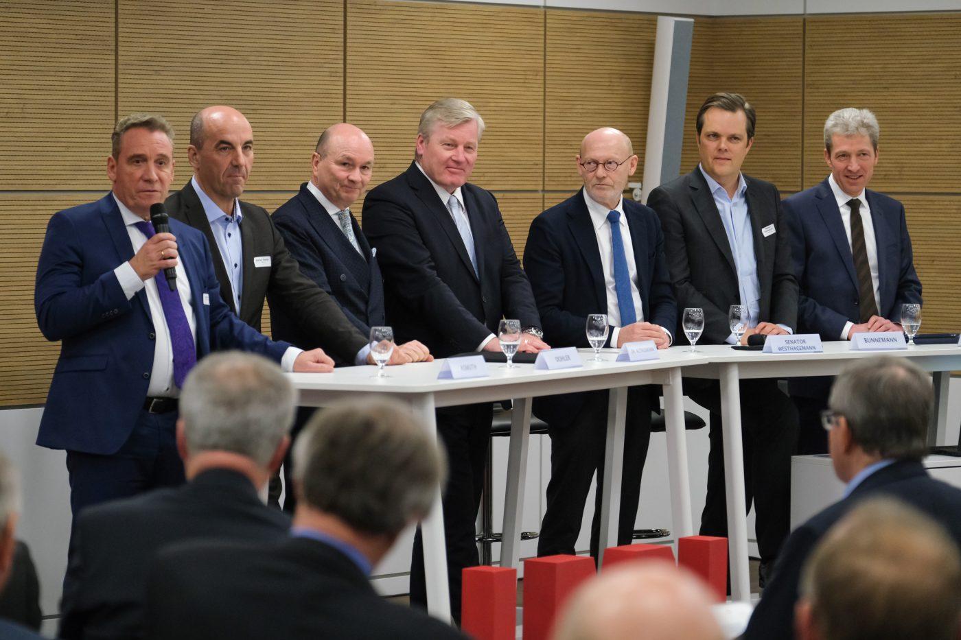 4. UNTERNEHMERGESPRÄCH HAMBURG – NIEDERSACHSEN: Wasserstoffwirtschaft – Chance für Norddeutschland?