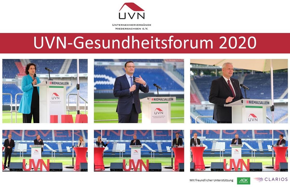 UVN-Gesundheitsforum mit Jens Spahn, Bundesminister für Gesundheit (Open-Air-Veranstaltung)