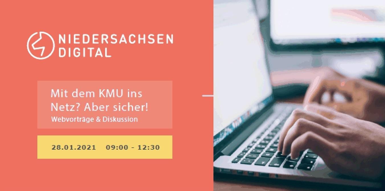 """Webvortrag """"Mit dem KMU ins Netz? Aber Sicher!"""""""