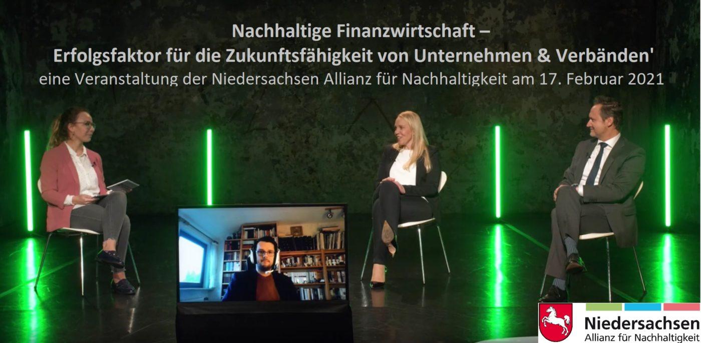 Nds Allianz für Nachhaltigkeit: Nachhaltige Finanzwirtschaft–Erfolgsfaktor für die Zukunftsfähigkeit von Verbänden & Unternehmen