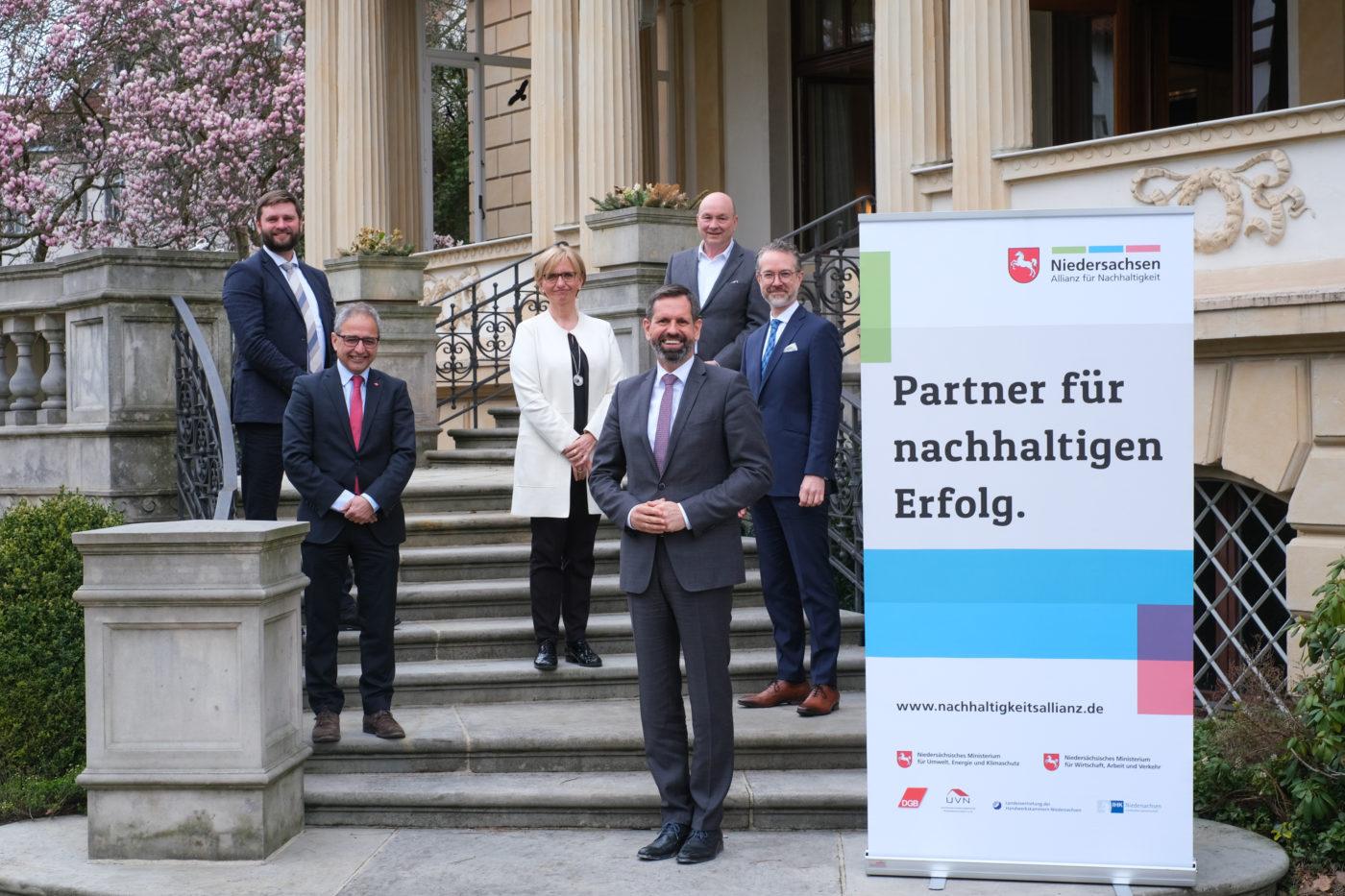 Weitere fünf Jahre Niedersachsen Allianz für Nachhaltigkeit