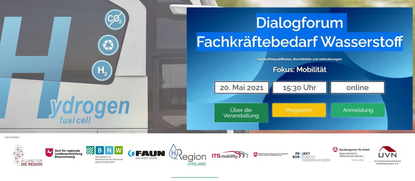 Dialogforum Fachkräftebedarf Wasserstoff - Fokus Mobilität