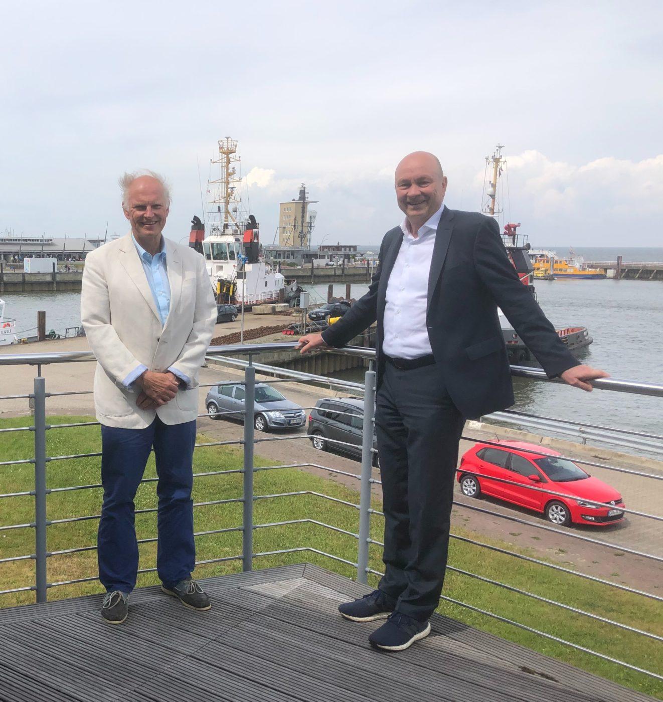 UVN zu Besuch bei UVC in Cuxhaven