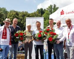 Siegerehrung UVN Tennisduell 2021