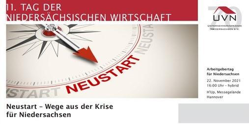 11. Tag der Niedersächsischen Wirtschaft – der Arbeitgebertag für Niedersachsen
